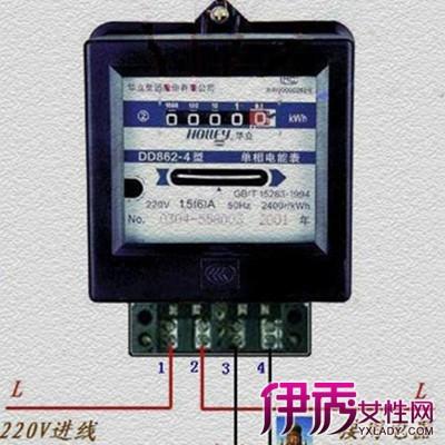 【图】单相电表接线图欣赏