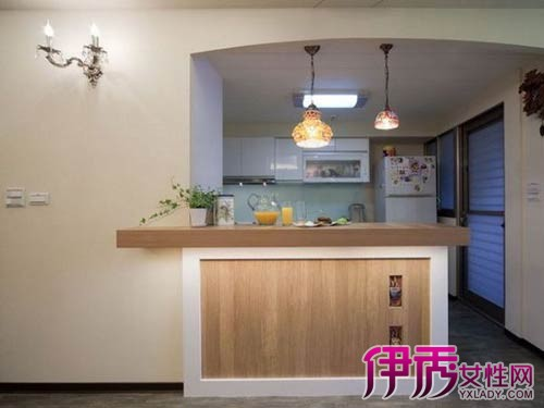 客厅酒柜吧台设计图展示