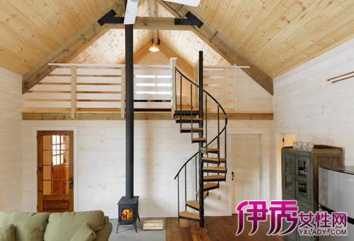 【图】阁楼楼梯装修效果图大全 教你如何设计安全又好看的楼梯