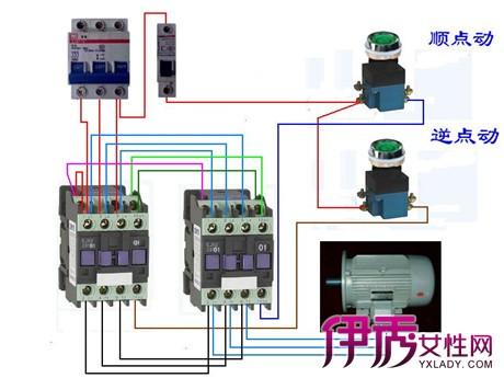 【交流接触器接线图】【图】交流接触器接线图展示