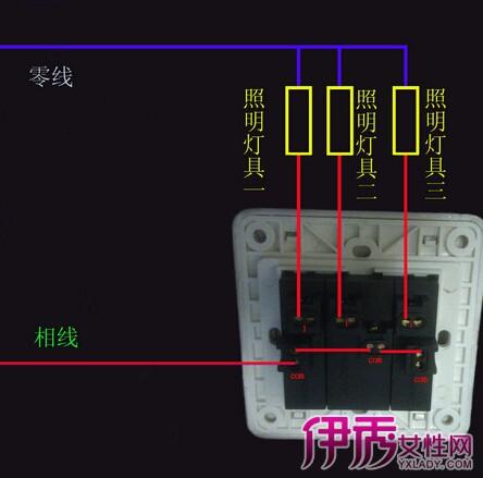 【电灯开关接线图】【图】电灯开关接线图大全-单联单控开关接线图