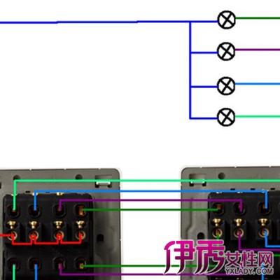【双联开关实物接线图】【图】了解双联开关实物接线