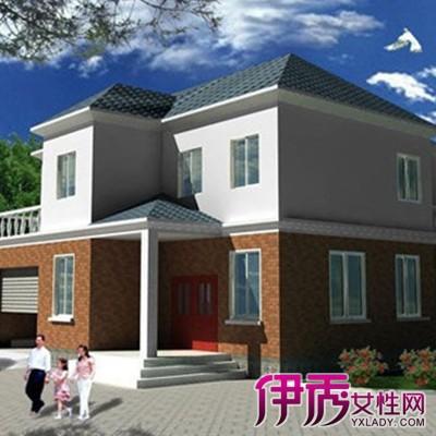 二层别墅平顶设计图展示图片