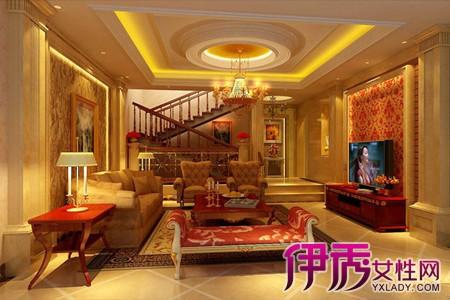 【别墅欧式装修效果图】【图】奢华的别墅欧式装修图