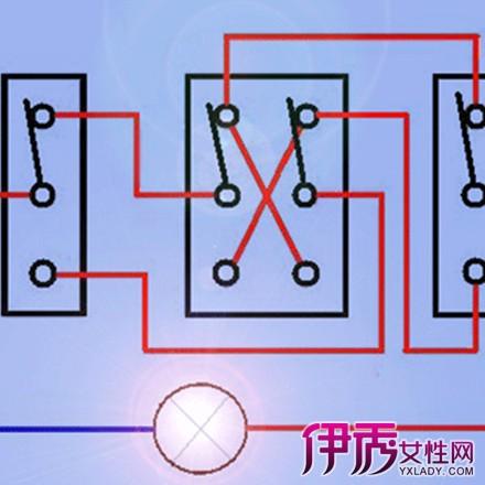 多控开关接线图图片介绍 6个步骤教你如何接多控开关图片