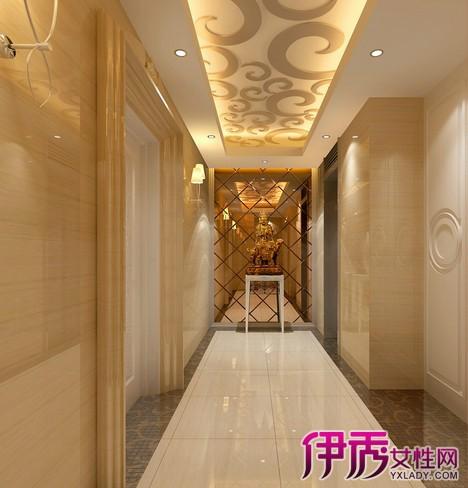 【图】走廊装修效果图大全 教你如何装修室内走廊及客厅走廊吊顶