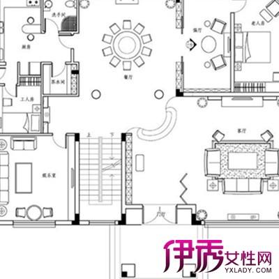 【图】展示别墅设计图纸平面图