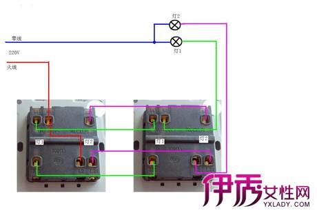 【图】三控开关实物接线图展示 教你2种不同的接法图片