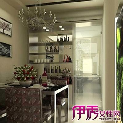 【图】欣赏厨房隔断酒柜效果图 了解不断隔断设计图片