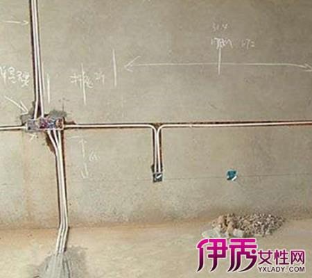 家装水电施工图介绍 按图纸安全布置水电路线