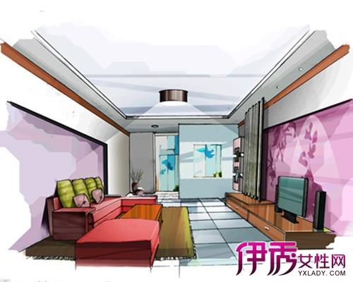 【室内客厅手绘效果图】【图】室内客厅手绘效果图