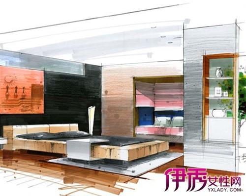 【图】室内客厅手绘效果图展示 为你分析手绘的艺术价值及技巧方法