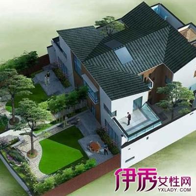 农村自建房带院子设计图展示