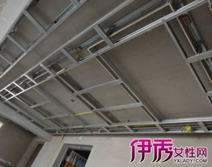 【图】揭秘轻钢龙骨吊顶结构图 施工工艺详解