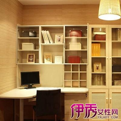 【转角书桌书柜效果图】【图】展示转角书桌书柜效
