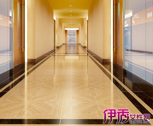 房间走廊地板砖效果图房间装修地板砖效果图图片12