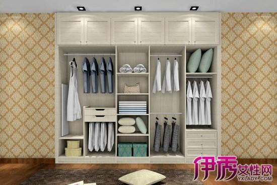 卧室衣柜内部设计图欣赏 对衣物的收纳起很大作用