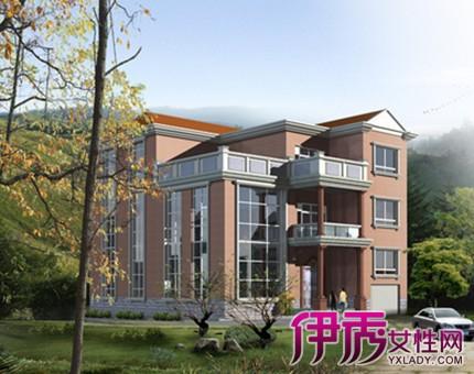 【广东农村三层半别墅】【图】美观实用的广东农村半
