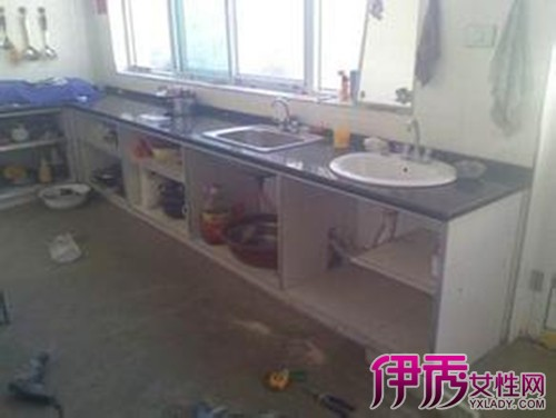 农村厨房灶台设计图大全 厨房装修不得不知道的风水学图片