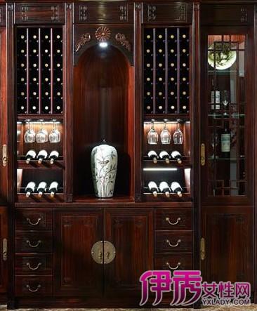 新中式酒柜效果图欣赏 中式酒柜的设计特点和整体搭配介绍