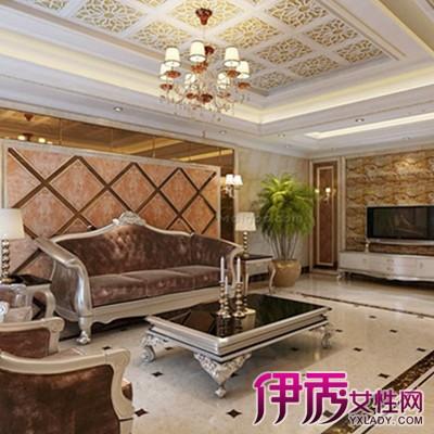 【图】展示客厅瓷砖装修效果图 几个装饰技法教你打造温馨之家