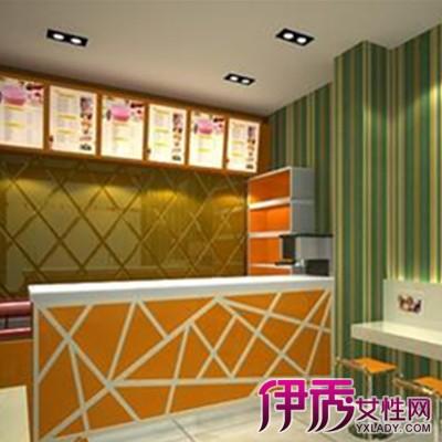 【图】奶茶店吧台效果图欣赏 奶茶店怎么装修才能吸引人?