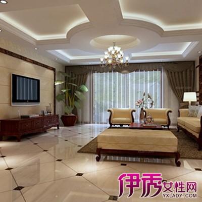 【图】客厅圆形吊顶图片欣赏