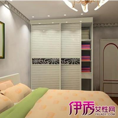 【图】卧室整体衣柜装修效果图欣赏 让卧室摆脱空荡