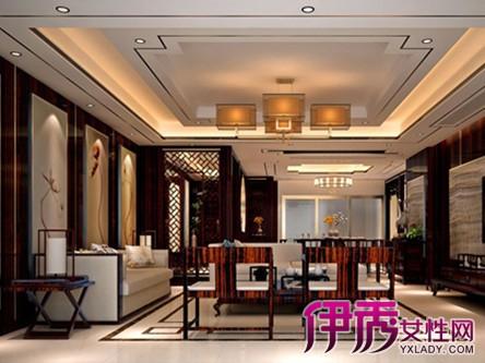 【图】新中式大客厅效果图欣赏 4个方面让你的客厅高端大气