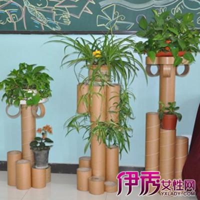 【废旧利用自制花架图片】【图】废旧利用自制花架