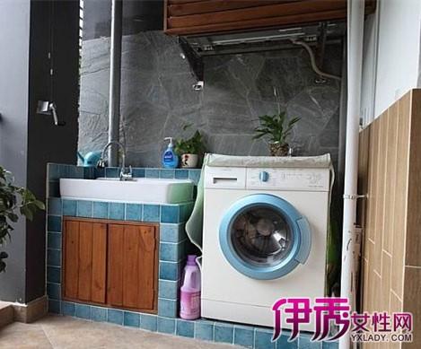 【图】阳台洗衣池效果图大全 向你介绍室内设计的4种风格