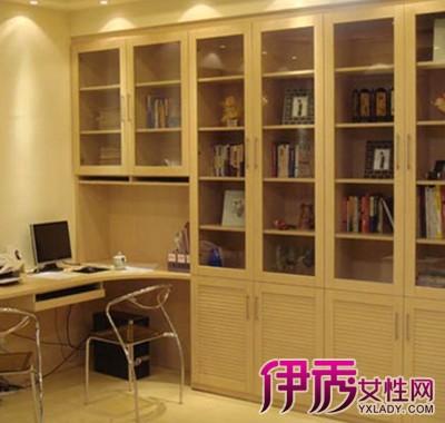 【书柜效果图大全】【图】欧式书柜效果图大全