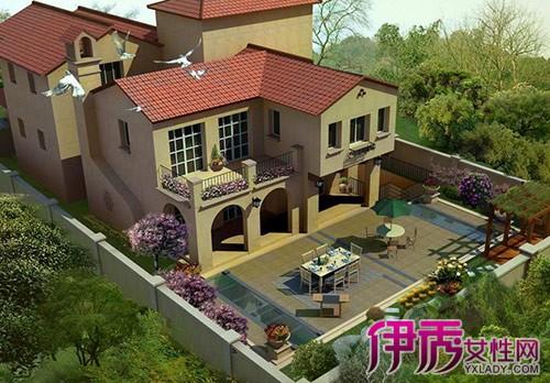 【图】别墅庭院景观图片欣赏 景观设计应注意的3个问 题