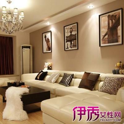 2,客厅墙面颜色—姜黄 欧式风格客厅设计,与一贯的奢华大气相比,这样