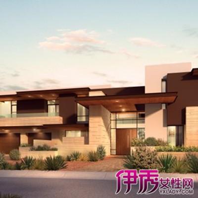 现代别墅三层半外观设计图 5种不同风格的别野