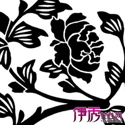 【图】最新花卉创意黑白装饰画 展现出艺术美