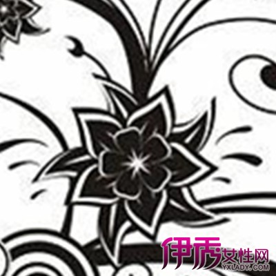【花卉创意黑白装饰画】【图】最新花卉创意黑白装饰图片