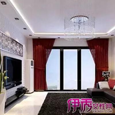 【图】分享客厅石膏线吊顶效果图 教您轻松选择客厅吊顶