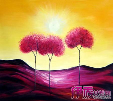 【图】看创意水粉色彩装饰画 四大方面与你讲述装饰画之艺术