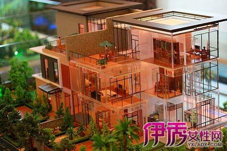 建筑模型的制作相对其它模型制作比较自由,首先材料的选择比较自由图片