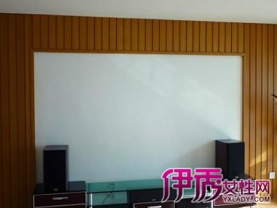 【生态木电视背景墙效果图】【图】生态木电视背景