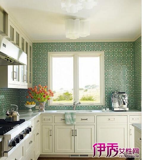 【图】正方形厨房装修效果图大全 让你的厨房时尚又简洁
