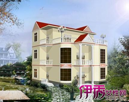 【农村三层小别墅设计图】【图】江南农村三层小别墅