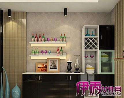 【厨房门两边酒柜效果图】【图】盘点厨房门两边酒柜