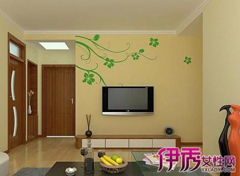 平板石膏线的客厅效果图展示