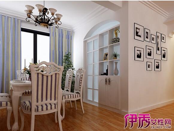 这间餐厅的占地面积较小,采用不吊顶的石膏线装饰,可以充分利用空间的面积,让就餐的时候不会感到太压抑,白色的石膏线和蓝黄条形纹状的窗帘相搭配,让整个餐厅具有田园色彩。 极具中式风格的客厅装修效果,配上这款无吊顶的装修,让整个空间的视野扩大了不少,一款散发温暖色调的吊灯,红色的背景墙带来了热情,让整间客厅都洋溢着欢乐的气氛。黑色的窗帘带来了神秘稳重的色彩。