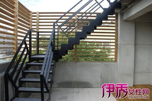 钢结构楼梯简介 在公共建筑中多用作消防疏散楼梯
