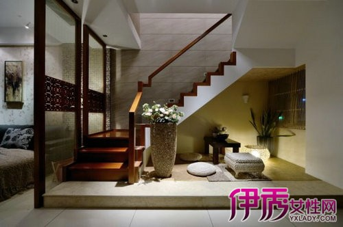 楼梯下空间装修效果图 小空间大利用的创意设计