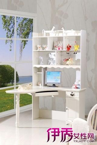 【图】欣赏电脑桌带书架效果图 选择适合自己的电脑桌书柜一体