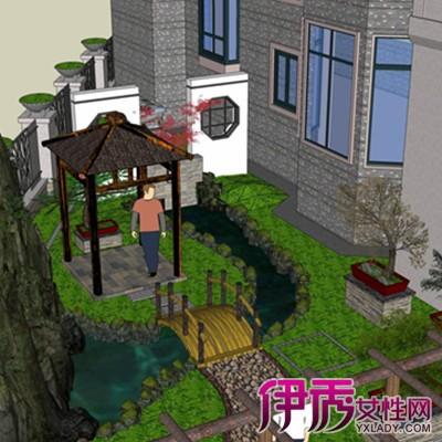 【欧式别墅庭院】【图】欧式别墅庭院景观设计